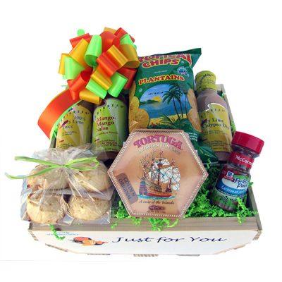 Florida Caribbean Foods Gift Basket