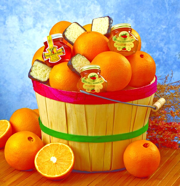 Citrus Grove Peck Gift Basket