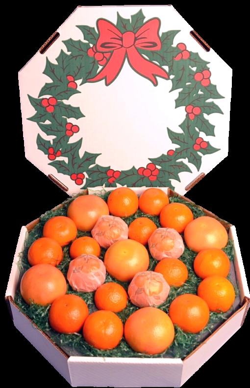 Citrus Christmas Wreath Gift