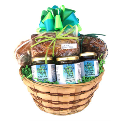 Sweet Breads and Spreads Gift Basket