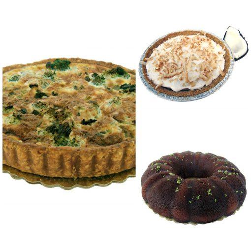 Quiche & Pie for Delivery