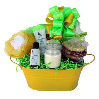 Spa Stress Reducer Gift Basketr